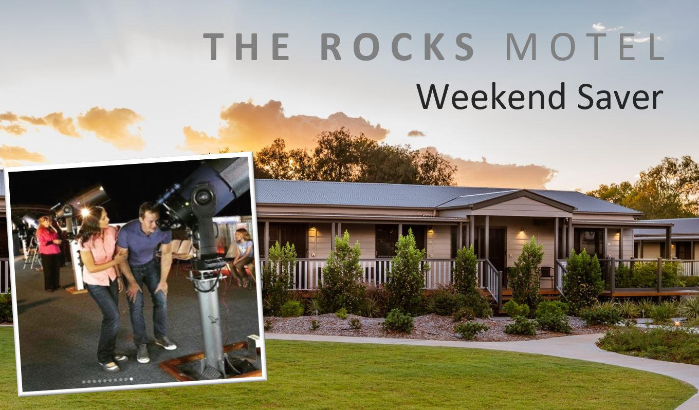 Surprise your partner to a weekend away in the Outback and save with our weekend saver special.